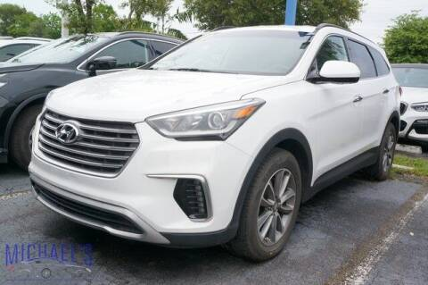 2017 Hyundai Santa Fe for sale at Michael's Auto Sales Corp in Hollywood FL