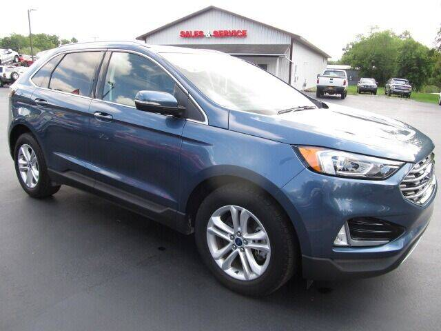 2019 Ford Edge for sale at Thompson Motors LLC in Attica NY
