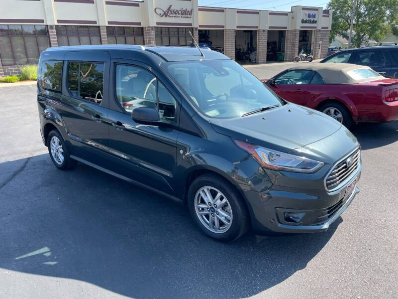 2019 Ford Transit Connect Wagon for sale at ASSOCIATED SALES & LEASING in Marshfield WI