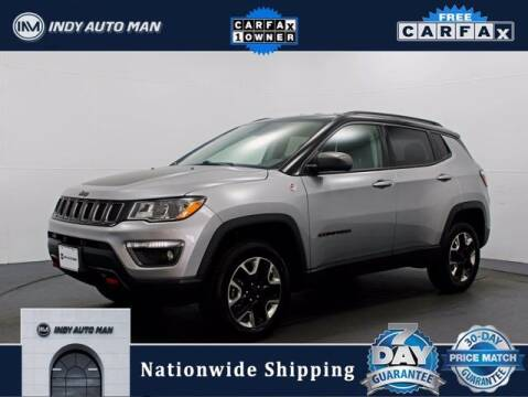 2018 Jeep Compass for sale at INDY AUTO MAN in Indianapolis IN