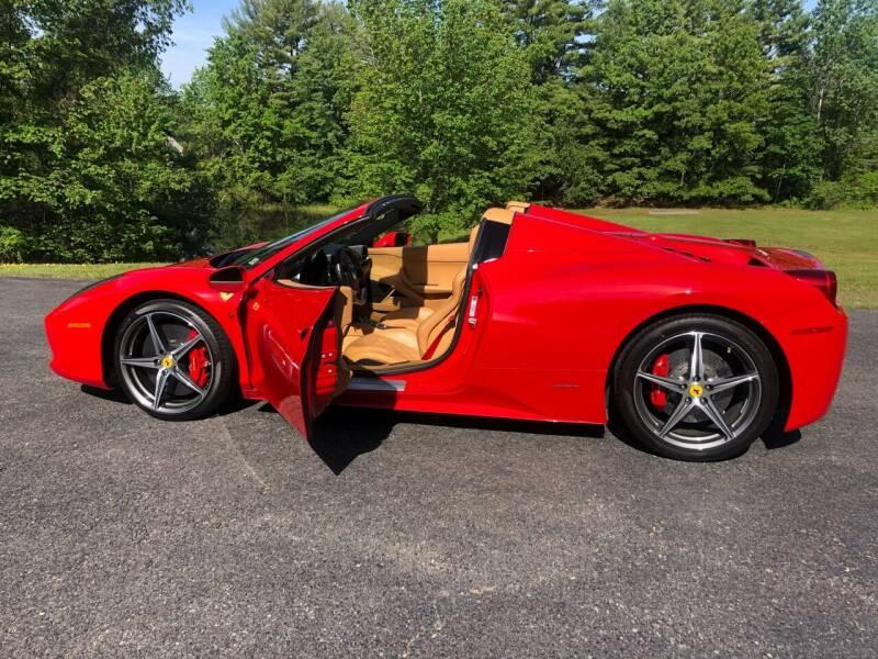 2013 Ferrari 458 Spider for sale at Cella  Motors LLC in Auburn NH