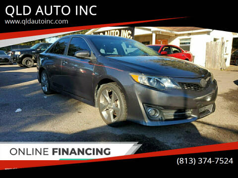 2014 Toyota Camry for sale at QLD AUTO INC in Tampa FL