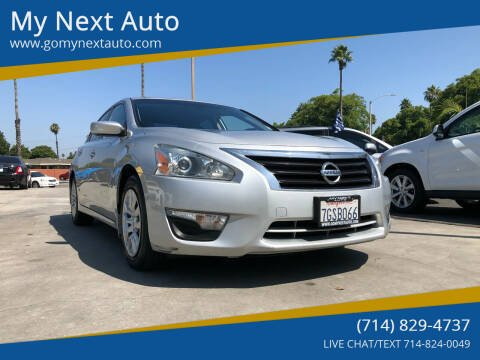 2014 Nissan Altima for sale at My Next Auto in Anaheim CA