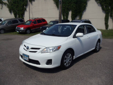 2011 Toyota Corolla for sale at Metro Motor Sales in Minneapolis MN