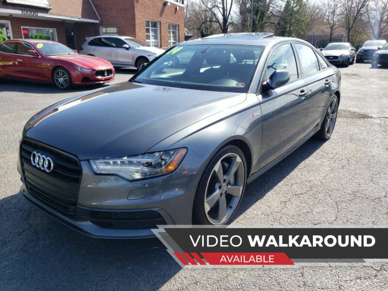 2014 Audi A6 for sale at A-Z Auto Sales in Newport News VA