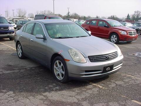 2004 Infiniti G35 for sale at VOA Auto Sales in Pontiac MI