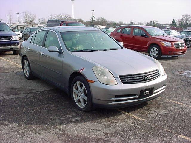 2004 Infiniti G35 for sale at VOA Auto Sales in Pontiac MI