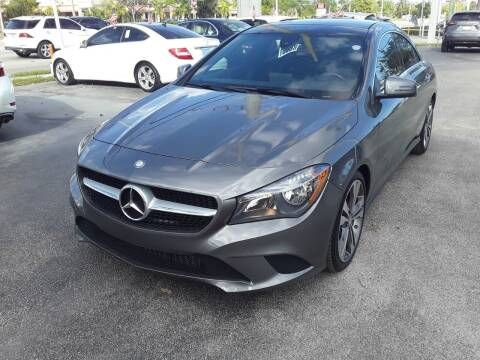 2015 Mercedes-Benz CLA for sale at YOUR BEST DRIVE in Oakland Park FL