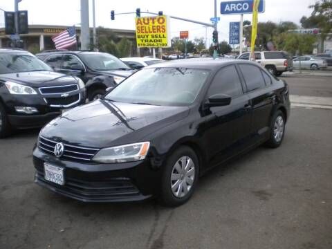 2016 Volkswagen Jetta for sale at AUTO SELLERS INC in San Diego CA