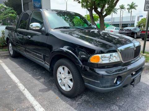 2002 Lincoln Blackwood for sale at GTR Motors in Davie FL