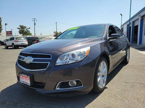 2013 Chevrolet Malibu for sale at Primo Auto Sales in Merced CA