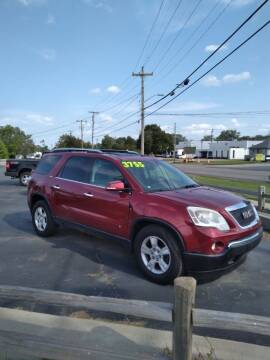 2009 GMC Acadia for sale at D and D All American Financing in Warren MI