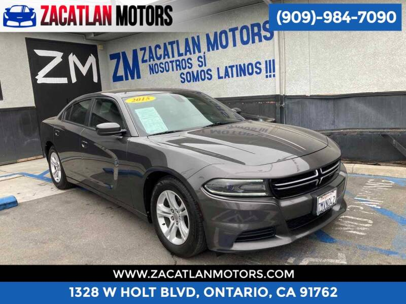 2015 Dodge Charger for sale at Ontario Auto Square in Ontario CA