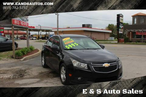 2012 Chevrolet Cruze for sale at E & S Auto Sales in Crest Hill IL