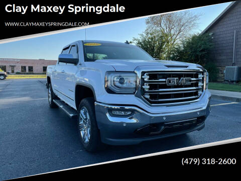 2018 GMC Sierra 1500 for sale at Clay Maxey Springdale in Springdale AR