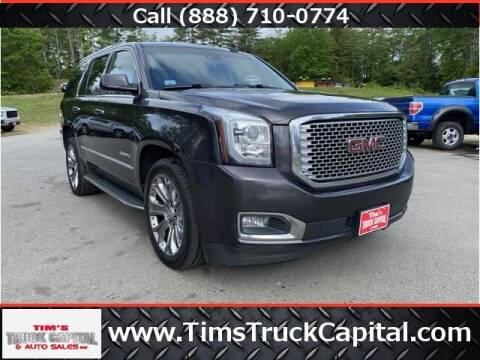 2015 GMC Yukon for sale at TTC AUTO OUTLET/TIM'S TRUCK CAPITAL & AUTO SALES INC ANNEX in Epsom NH