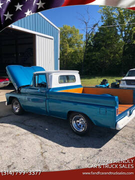 1961 Chevrolet Apache for sale at Fair & Friendly Car & Truck Sales in Foristell MO