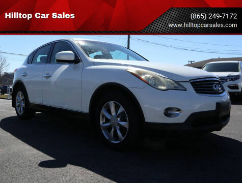2008 Infiniti EX35 for sale at Hilltop Car Sales in Knox TN