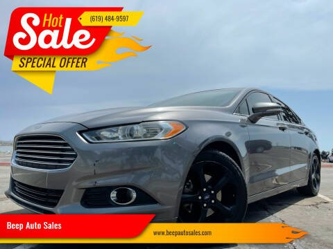 2013 Ford Fusion for sale at Beep Auto Sales in National City CA