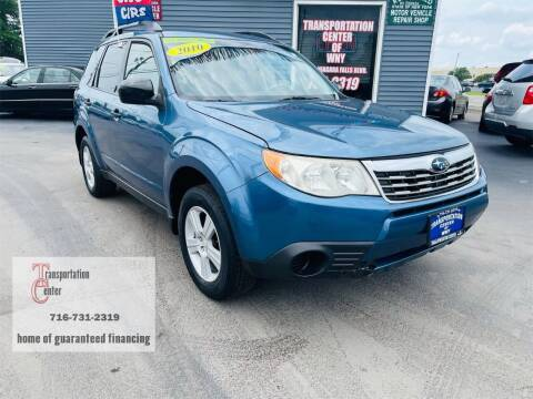 2010 Subaru Forester for sale at Transportation Center Of Western New York in Niagara Falls NY