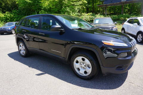 2017 Jeep Cherokee for sale at Bloom Auto in Ledgewood NJ