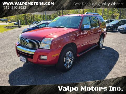 2008 Mercury Mountaineer for sale at Valpo Motors Inc. in Valparaiso IN