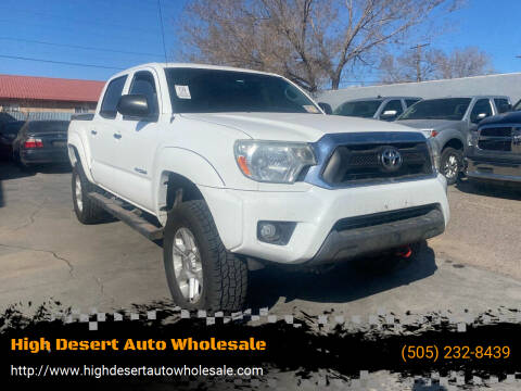 2014 Toyota Tacoma for sale at High Desert Auto Wholesale in Albuquerque NM