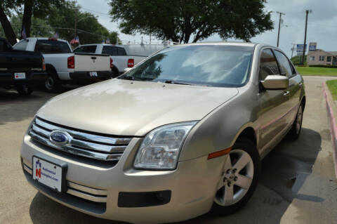 2009 Ford Fusion for sale at E-Auto Groups in Dallas TX