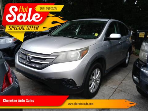 2012 Honda CR-V for sale at Cherokee Auto Sales in Acworth GA