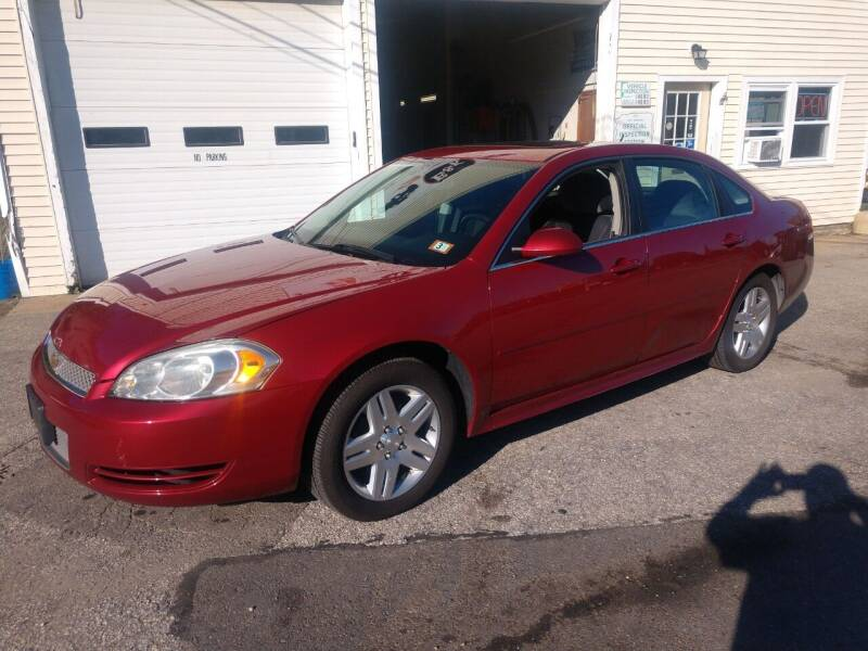 2013 Chevrolet Impala for sale at E & K Automotive in Derry NH