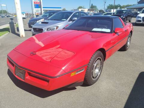 1985 Chevrolet Corvette for sale at Artistic Auto Group, LLC in Kennewick WA