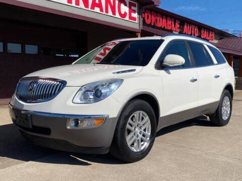 2009 Buick Enclave for sale at Affordable Auto Sales in Cambridge MN