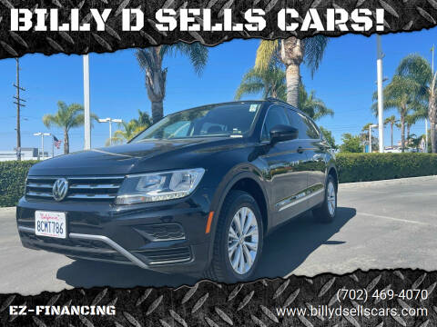 2018 Volkswagen Tiguan for sale at BILLY D SELLS CARS! in Temecula CA