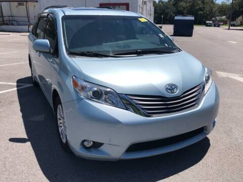 2015 Toyota Sienna for sale at LUXURY AUTO MALL in Tampa FL