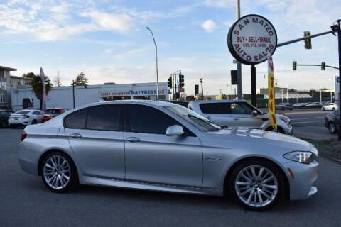 2013 BMW 5 Series for sale at San Mateo Auto Sales in San Mateo CA