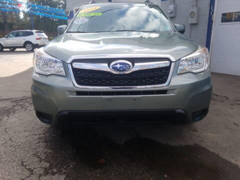 2014 Subaru Forester for sale at Bizzarro`s Fleetwing Auto Sales in Erie PA
