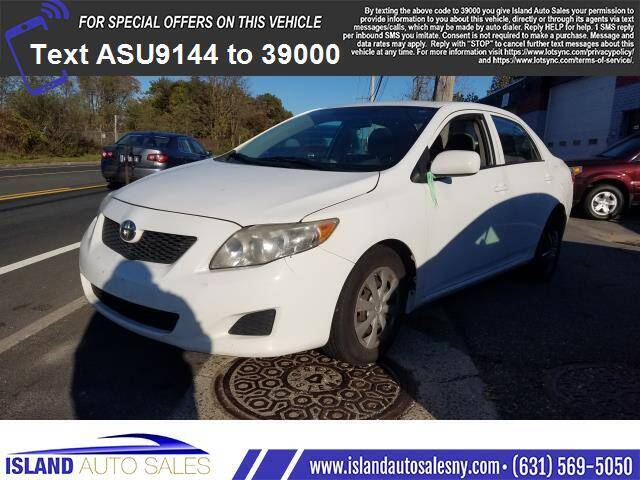 2010 Toyota Corolla for sale at Island Auto Sales in E.Patchogue NY