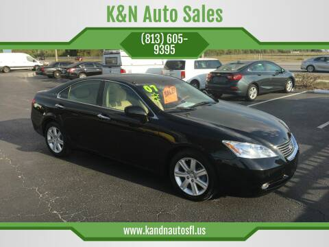 2007 Lexus ES 350 for sale at K&N Auto Sales in Tampa FL