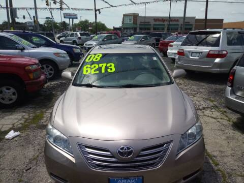2008 Toyota Camry Hybrid for sale at Arak Auto Group in Bourbonnais IL