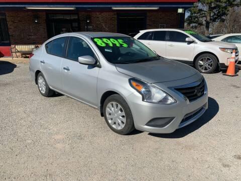 2015 Nissan Versa for sale at Super Wheels-N-Deals in Memphis TN