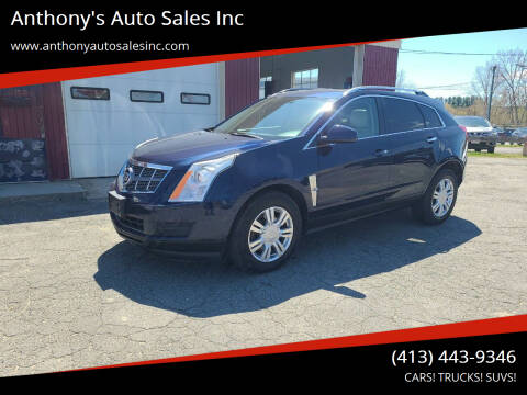 2011 Cadillac SRX for sale at Anthony's Auto Sales Inc in Pittsfield MA