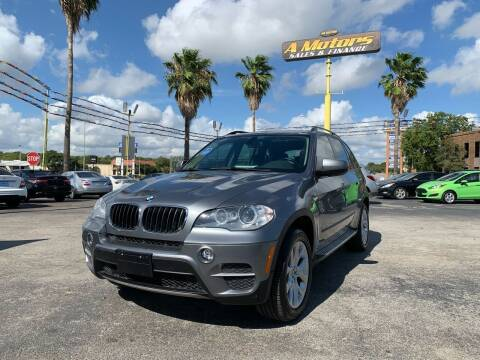 2012 BMW X5 for sale at A MOTORS SALES AND FINANCE in San Antonio TX