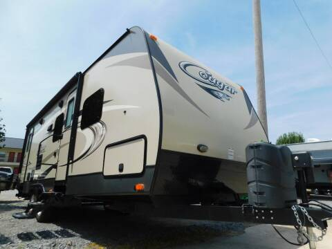 2017 Keystone Cougar 26DBHWE for sale at Motorsports Unlimited in McAlester OK