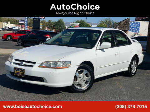 2000 Honda Accord for sale at AutoChoice in Boise ID