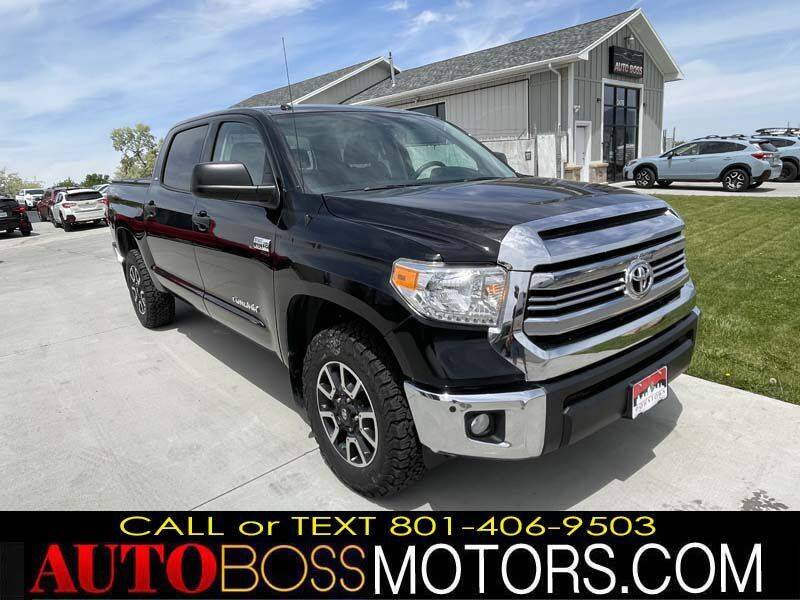 2015 Toyota Tundra for sale at Auto Boss in Woodscross UT