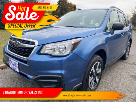 2017 Subaru Forester for sale at STRAIGHT MOTOR SALES INC in Paterson NJ