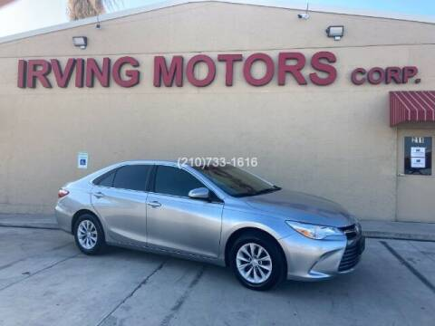 2017 Toyota Camry for sale at Irving Motors Corp in San Antonio TX