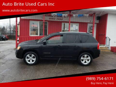 2011 Jeep Compass for sale at Auto Brite Used Cars Inc in Saginaw MI