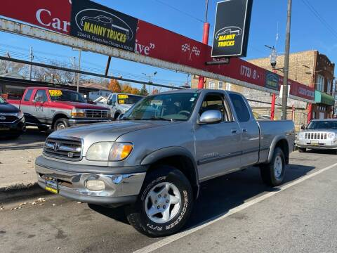 2001 Toyota Tundra for sale at Manny Trucks in Chicago IL