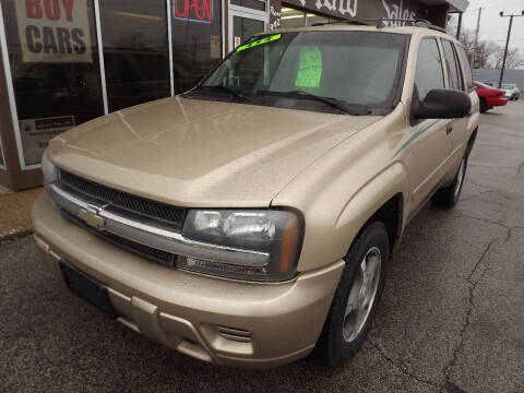 2007 Chevrolet TrailBlazer for sale at Arko Auto Sales in Eastlake OH